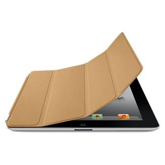 Smart Cover Leather Tan