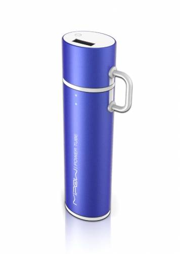 Mipow Power Tube 2600 Lightning Blue