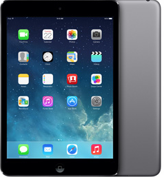 iPad mini S Retina displejom 32 GB Wi-Fi Cellular Space Gray