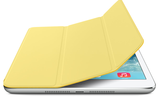iPad mini Smart Cover Yellow new