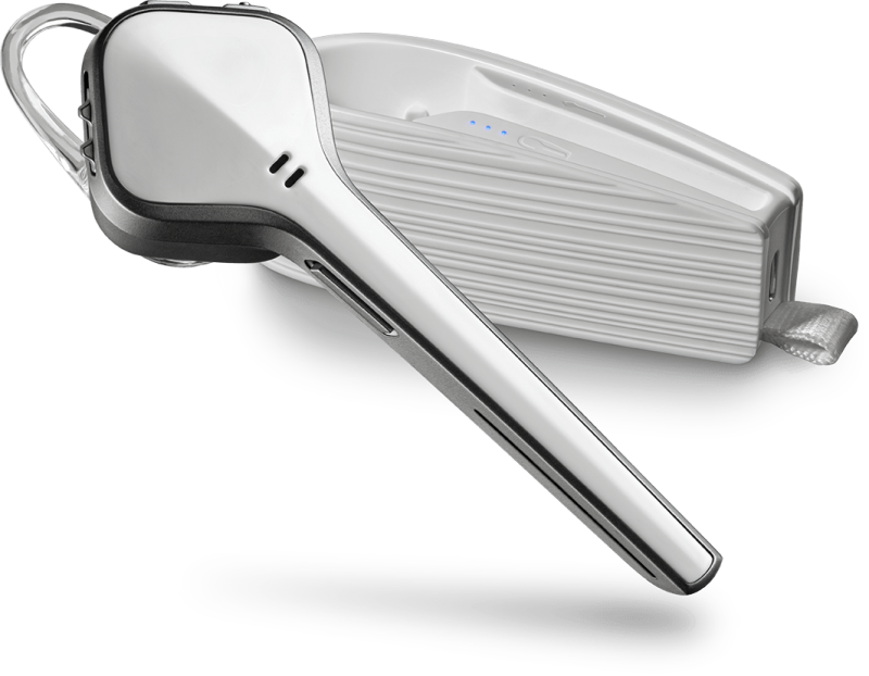 Plantronics Voyager Edge - Bluetooth Headset, Biely