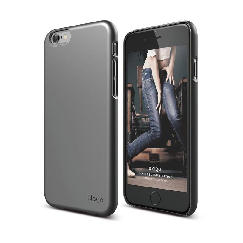 ELAGO S6+ Slim Fit 2 Case Soft Touch Dark Gray