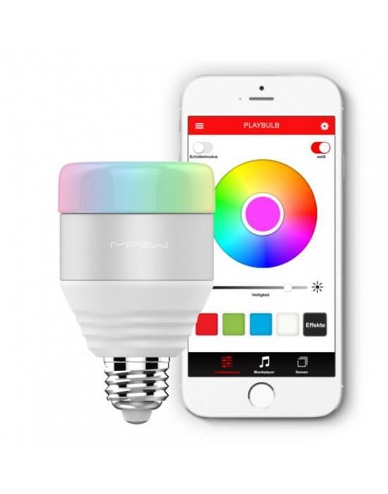 MIPOW PLAYBULB™ SMART LED BLUETOOTH ŽIAROVKA - BIELA