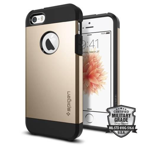 Spigen kryt Tough Armor pre iPhone 5 5s SE - Champagne Gold - TRACO ... 55d9ce5de39