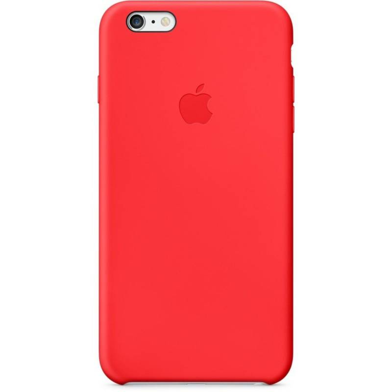iPhone 6 Plus Silicon Case Red