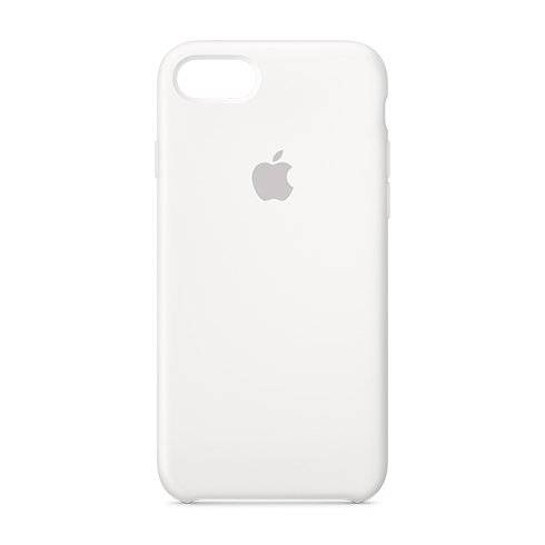 Apple iPhone 7 Silicone Case - White