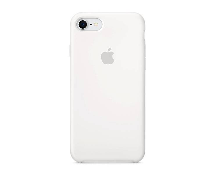 Apple iPhone 8/7 Silicone Case - White