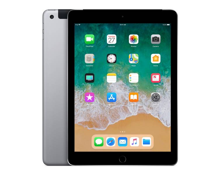 iPad 9.7 inch 128 GB WiFi + Cellular Space Gray