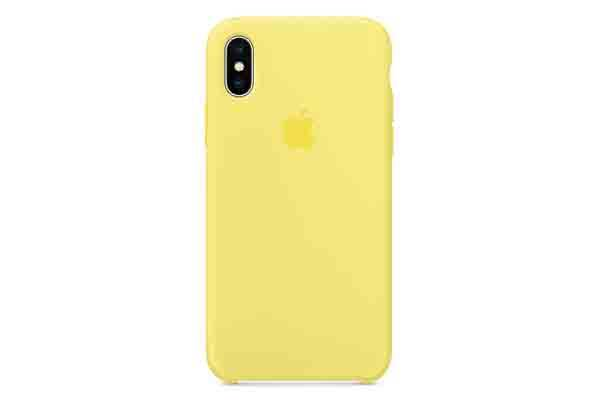 new style 9528c e1a82 Apple iPhone X Silicone Case - Lemonade