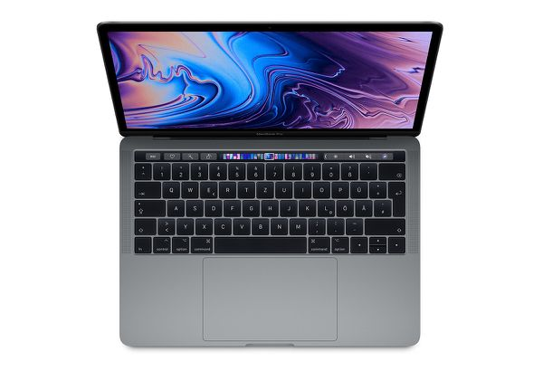 Nový MacBook Pro 13-inch Touch Bar 2.3GHz  i5 / 512 GB Space Gray