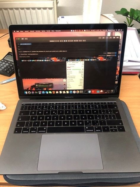 "MacBook Pro 13"", dual-core i5 2,3 GHz, 8 GB RAM, 256 GB HDD Space Gray"