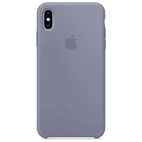 Apple iPhone XS Max Silicone Case - Lavender Gray