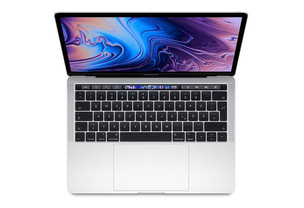MacBook Pro 13-inch Touch Bar 2.4 GHz  i5 / 256 GB Silver