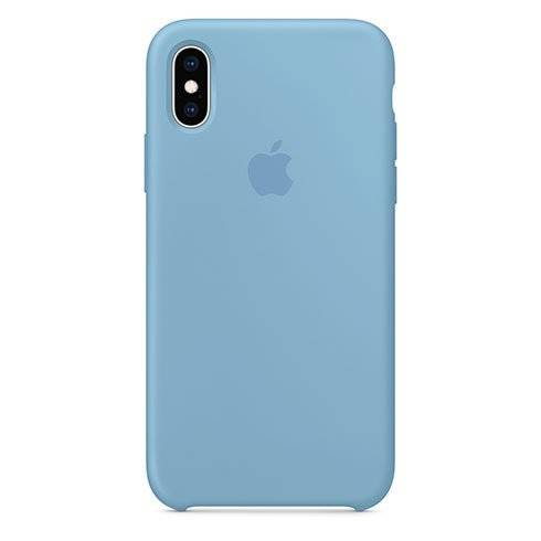 Apple iPhone X/XS Silicone Case - Cornflower