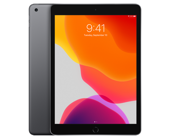 iPad 10.2 inch 128 GB WiFi Space Gray