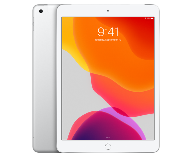 iPad 10.2 inch 128 GB WiFi + Cellular Silver
