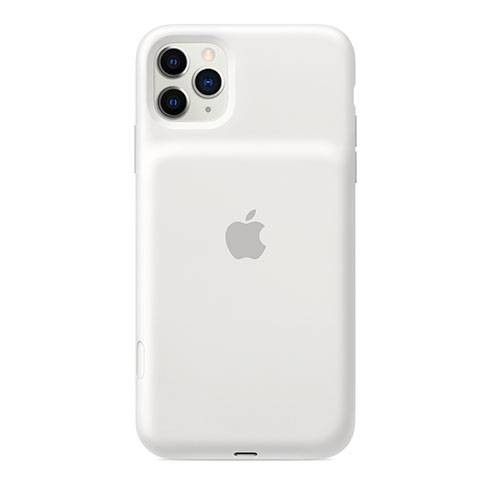 Apple iPhone 11 Pro Max Smart Battery Case with Wireless Charging - White