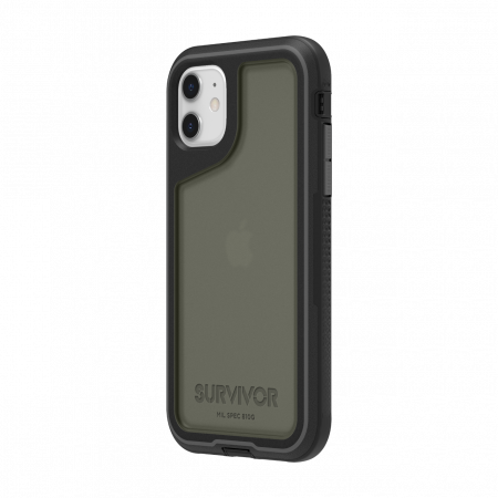 Griffin Survivor Extreme pre iPhone 11 - Black/Gray/Smoke
