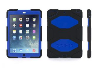 Griffin Survivor iPad Air Black/Blue