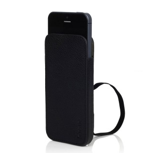 Knomo leather sleeve pre iPhone 5/5s/SE