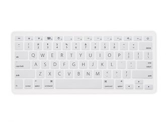 iLuv Silicon keyboard cover for MacBook - White