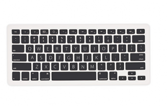 iLuv Silicon keyboard cover for MacBook - Black