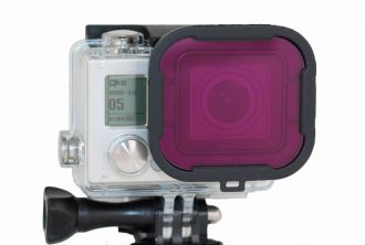 POLAR PRO MAGENTA FILTER - GOPRO HERO3+