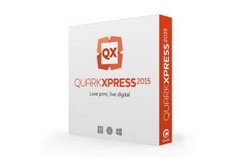 QuarkXPress 2015 upgrade z v3-10 MAC/WIN