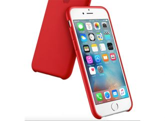 iPhone 6s Silicone Case Red