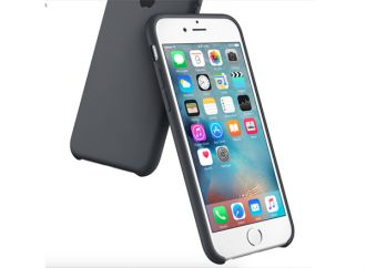 iPhone 6s Plus Silicone Case Charcoal Grey