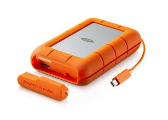 LaCie Rugged RAID, 4 TB, Thunderbolt, USB 3.0
