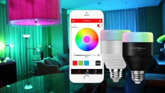 MIPOW PLAYBULB™ SMART LED BLUETOOTH ŽIAROVKA - ČIERNA