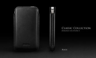 More. Letiqué Collection for iPhone 4S/4 -Black