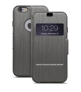 Moshi SenseCover iPhone 6 Plus - Steel Black