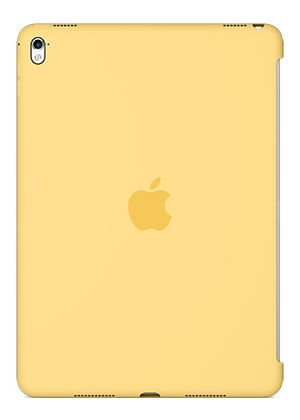 Silicone Case for 9.7-inch iPad Pro - Yellow