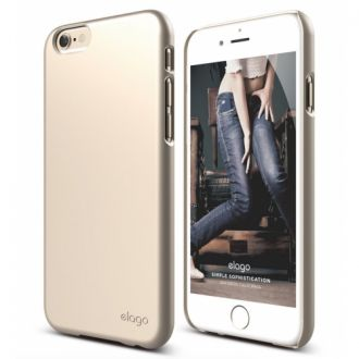 ELAGO S6 Slim Fit 2 Case obal pre iPhone 6 Champagne Gold