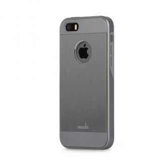 Moshi kryt iGlaze Armour pre iPhone SE - Gunmetal Gray