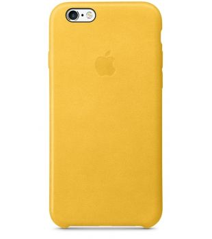 iPhone 6s Leather Case Marigold