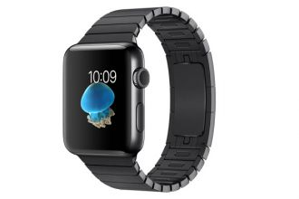 Apple Watch Series 2, 42mm Space Black Stainless Steel Case with Space Black Stainless Steel Link Bracelet