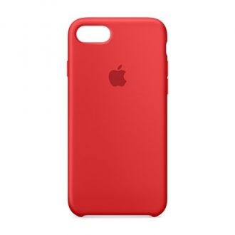 Apple iPhone 7 Silicone Case - Red