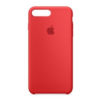 Apple iPhone 7 Plus Silicone Case - Red