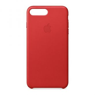 Apple iPhone 7/8 Plus Leather Case - Red