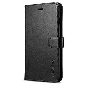 Spigen Kickstand Cover Wallets pre iPhone 7 - Black