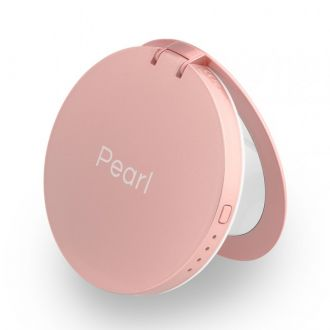 Hyper Pearl make-up mirror & powerbank - Rose Gold