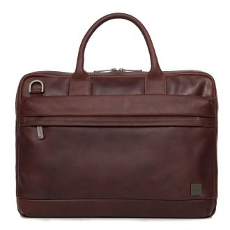 "Knomo taška Barbican/Foster Mens 14"" Brown"