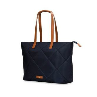 "Knomo taška Paddington/Porchester Zip Top Tote 15"" Navy"