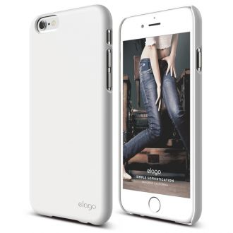 ELAGO S6 Slim Fit 2 Case obal pre iPhone 6 White