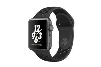 Watch Nike+, 38mm Space Grey Aluminium Case with Anthracite / Black Nike Sport Band