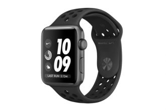 Apple Watch Nike+, 42mm Space Grey Aluminium Case with Anthracite / Black Nike Sport Band