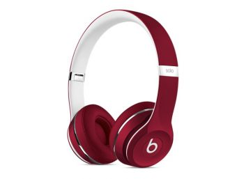 Apple Beats Solo2 On-Ear Headphones (Luxe Edition) - Red
